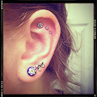 Outer Conch Piercing