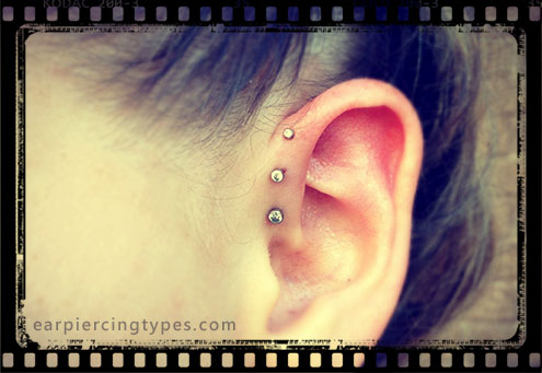 Barbell forward helix