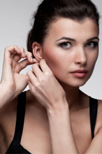 What to avoid during new ear piercing healing time