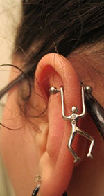 Cartilage determines the shape and structure of the outer ear