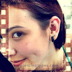ball closure ring rook ear piercing