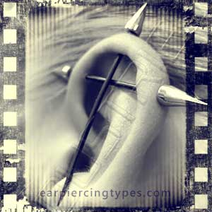 Industrial ear piercing history 2