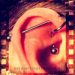 Industrial ear piercing combination 2