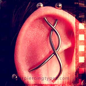 Industrial ear piercing combination 3