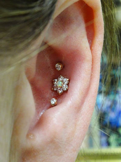 Outer Conch ear piercing - All About Outer Conch Piercings Ear Piercings Types