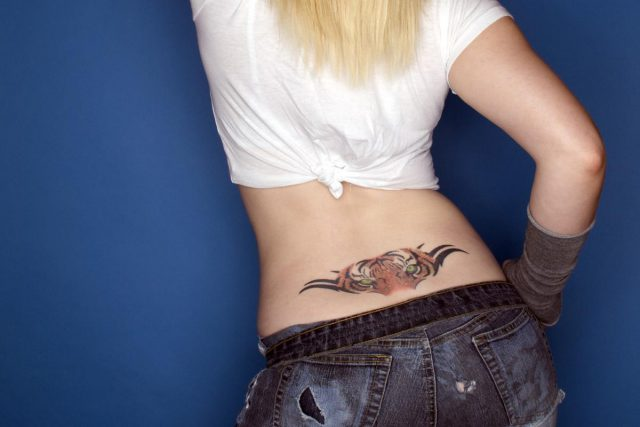 Lower Back Tattoo Designs For Women 8