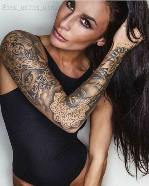 Arm tattoo ideas for women 6