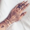 henna art tattoo